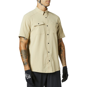 Fox Flexair Woven SS Jersey Men, beige